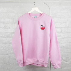 Mum In A Melon Embroidered Ladies Jumper Sweatshirt