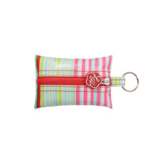 Key ring in selma stripe print