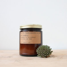 Frankincense & Oud Candle By P.F. Candle Co