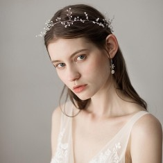 Bridal Pearl Tree Headband