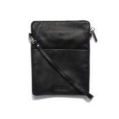 Ruby shoulder crossbody bag in black