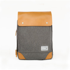 Venque - Flat Mini Grey Backpack