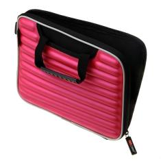 iPad case in hot pink