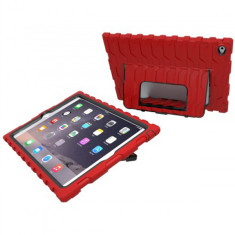 Shockdrop case with stand for iPad Air 2 in red