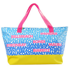 Ipanema beach tote in oilskin