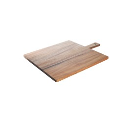 Classic large square paddle serving board