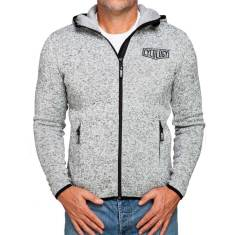 Men's hoodie in light grey