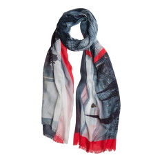 Melbourne magic photographic scarf