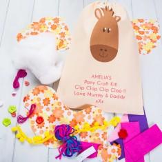 Personalised Pony Craft Kit