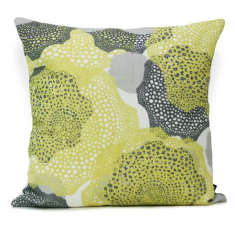Barrier Reef Cushion Cover in Lemon (The Australian Collection)