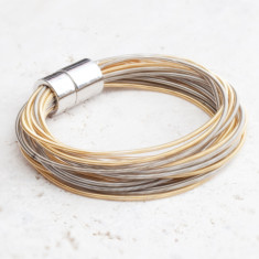 Bea personalised strand bracelet