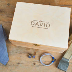 Men's Personalised Modern Male Grooming Box