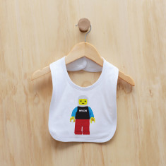 Personalised blockman bib