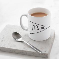 It's Ok Banner Mug
