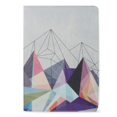 Colorflash Geometric iPad Pro 9.7 Tablet Folio Case