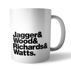 Rolling Stones Rock Band mug