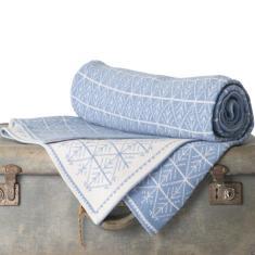 Merino Wool Blanket - Snowflake