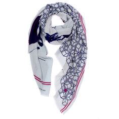 Ira villa silk scarf