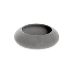 Grey Concrete Bowl - Round - Small