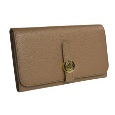 Isabella wallet in taupe