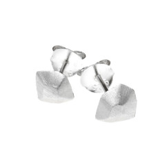 Penelope stud earrings in silver