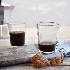 Set of Six Espresso glasses
