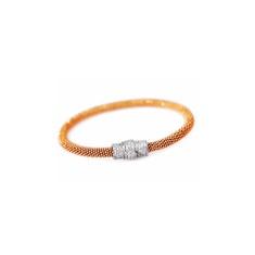 Mesh gold bracelet bracelet