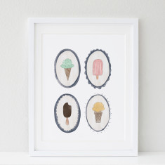 Ice Cream Dreams print