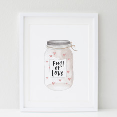Jar Full Of Love print