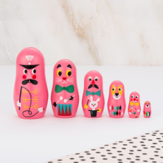 Pocket Circus Nesting Dolls