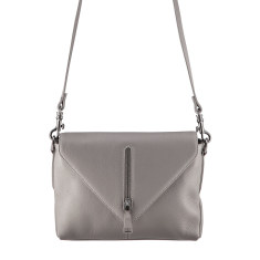Exile leather bag in grey
