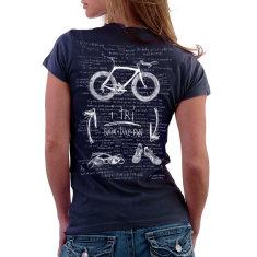 I tri women's t-shirt