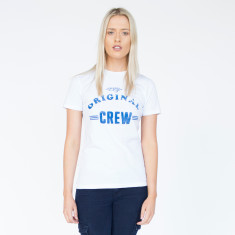 Original Crew White Cotton Tee