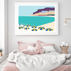 Canary islands art print