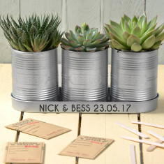 Personalised Planters with Seeds & Markers