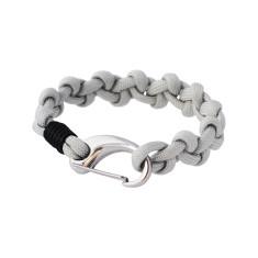 Castaway cuff bracelet in silver