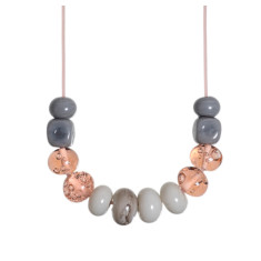 Nina glass necklace