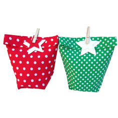 Emerald Mini Pop gift bags (set of 2)
