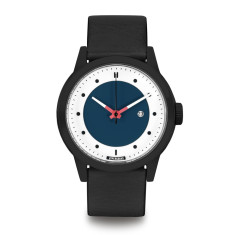 Hypergrand maverick 3hd leather black blue classic black