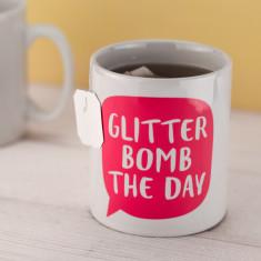Glitter Bomb the Day Mug