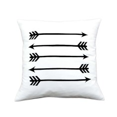 Arrows handmade cushion cover