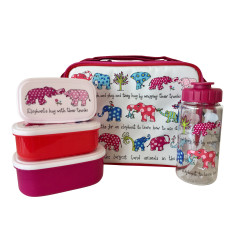 Tyrrell Katz Elephants 3 piece lunch set