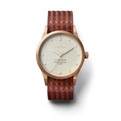 Ivory lansen brown giza watch