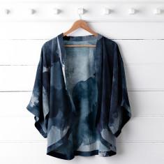 Midnight Ink Kimono Top