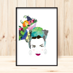 Carmen Miranda art print (various sizes)