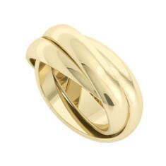 Russian Wedding Ring - Juno - 9 ct Yellow Gold