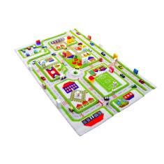 Traffic interactive play mat