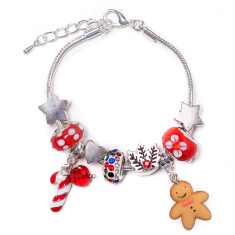Childrens' Christmas charm bracelet