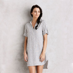 Tenerife tunic in navy