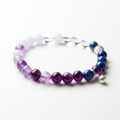 I love chakras' crystal intuition bracelet with bell